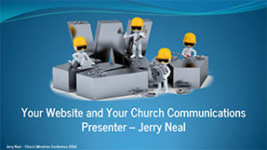 church website and your church communications